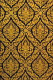 Thai Gold Paint Royalty Free Stock Images