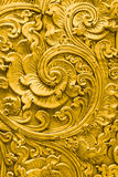 Thai gold pattern handcraft traditional culture fine art royalty free stock photo