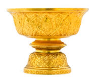 Thai Gold tray Stock Photos
