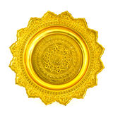 Thai Gold tray Royalty Free Stock Photos