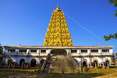 Thai golden Bodh Gaya Stock Photography