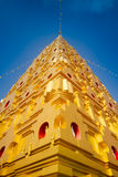 Thai golden Bodh Gaya. In Sangkhlaburi, Thailand Royalty Free Stock Photography