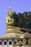 Thai golden Buddha Stock Photography
