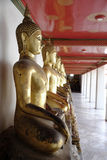Thai Golden Buddha Stock Image