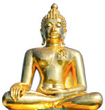 Thai Golden Buddha Statue. Royalty Free Stock Photo