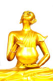 Thai Golden Buddha Statue. Buddha Statue in Thailand Royalty Free Stock Photography