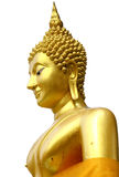 Thai Golden Buddhism Statue Stock Image
