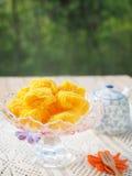 Thai golden desert Royalty Free Stock Images