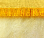 Thai golden fabric Royalty Free Stock Photo