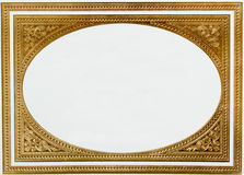 Thai golden frame Stock Photo