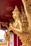 Thai golden guardian statue Royalty Free Stock Photos