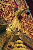 Thai golden swan Stock Photo