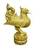 Thai golden swan Royalty Free Stock Photo