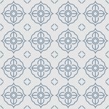 Thai gray grille cane vintage pattern Stock Illustration