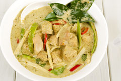 Thai Green Chicken Curry Stock Photography