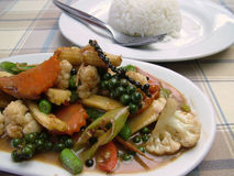 Thai Green Curry Stock Images