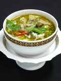 Thai green curry with chicken Royalty Free Stock Photography