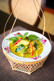 Thai green curry chicken. Stock Image
