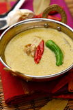 Thai green curry royalty free stock images