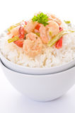 Thai Green Curry Shrimp Royalty Free Stock Images