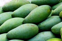 Thai Green Mango. Thai Fruit Green Mango at Nonthaburi - Thailand Royalty Free Stock Photos