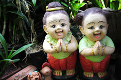 Thai Greeting doll Stock Image