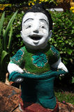 Thai Greeting doll Stock Image