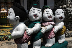 Thai Greeting doll Stock Images