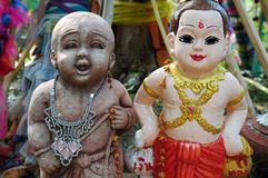 Thai Greeting doll Royalty Free Stock Images