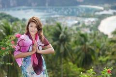 Thai greetings Stock Photos