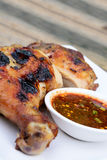 Thai grill chicken Royalty Free Stock Photos