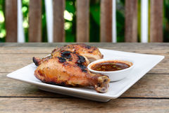 Thai grill chicken Royalty Free Stock Image