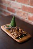 Thai grill pork stick. Stock Photography