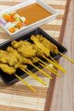 Thai BBQ Pork Royalty Free Stock Images