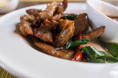 Thai Grilled Pork Royalty Free Stock Photography