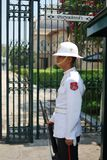 thai guard royaltyfri foto