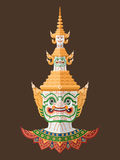 Thai Guardian Giant , Thai Art Stock Photography