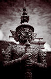 Thai guardian statue Royalty Free Stock Photography