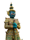 Thai guardian statue Royalty Free Stock Photos
