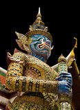 Thai guardian statue Royalty Free Stock Photo