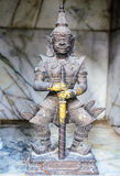 Thai guardian warrior Royalty Free Stock Photography