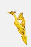 thai guld- phoenix Arkivbilder