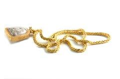 thai guldhalsband Royaltyfri Bild