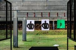 Thai Gunnery Drills. Photo taken on: October 23rd, 2013 stock image