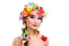 thai härlig flicka Fotografering för Bildbyråer