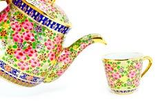 thai hällande tea Arkivfoton