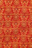 Thai hand-made fabric pattern Stock Image