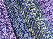 Thai hand-made fabric pattern. Background Royalty Free Stock Photography