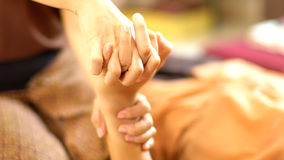Thai hand Massage Royalty Free Stock Images