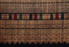 Thai hand-woven fabrics Stock Image